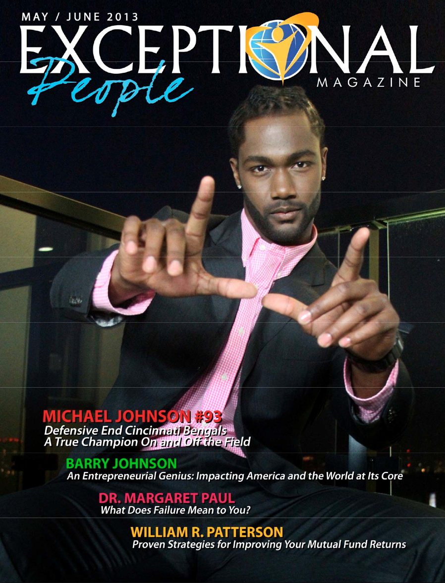 "Exceptional People Magazine ""Covers"" MJ"