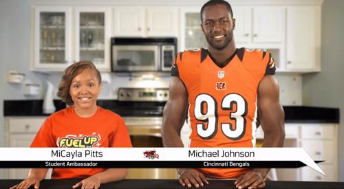 MJ, dairy association team up to help kids eat, play better | Cincinnati – WLWT Home