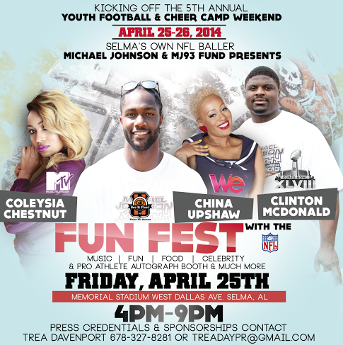 MJ93 Fund Michael Johnson Fun Fest