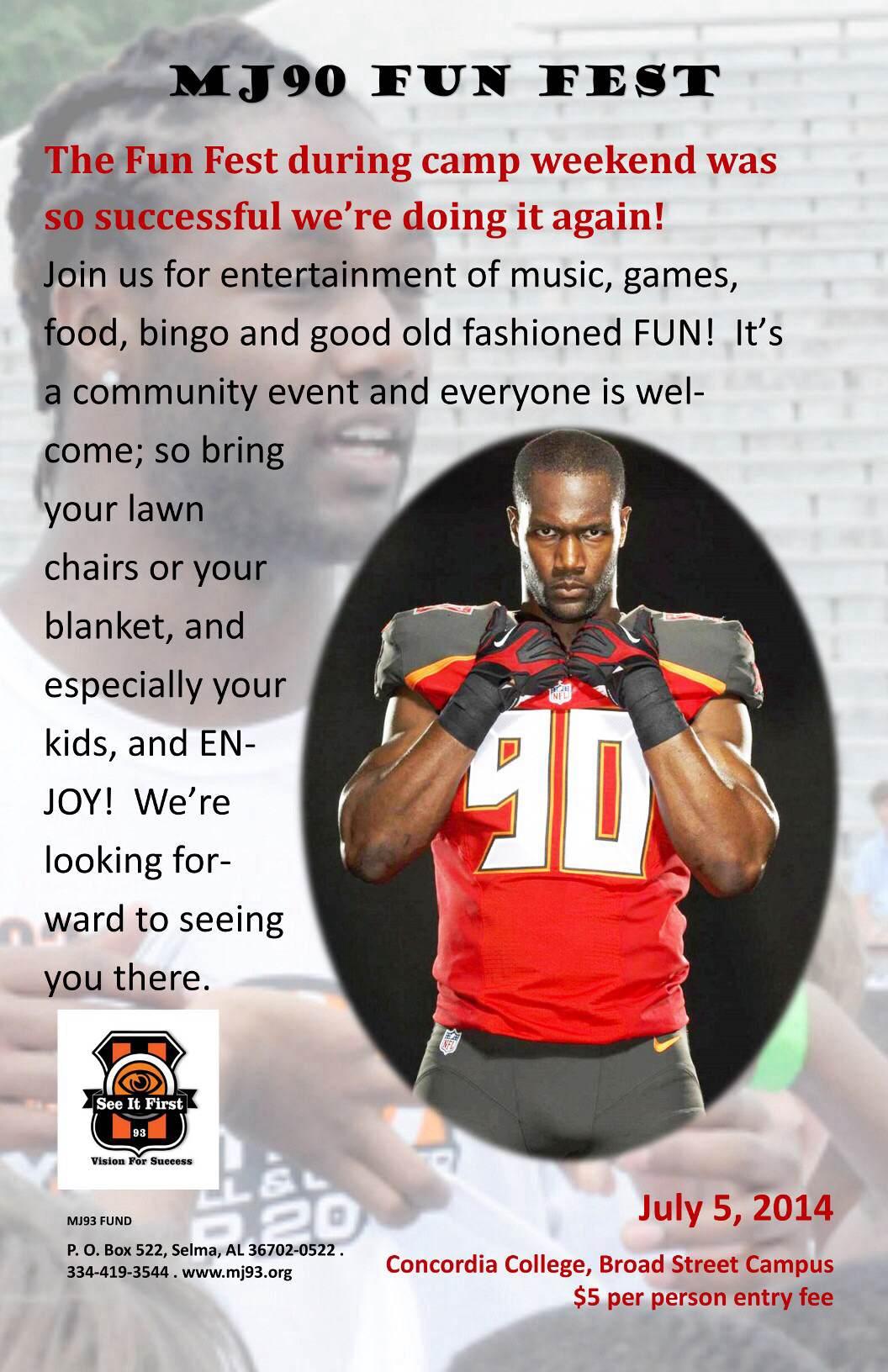 MJ90 Fun Fest – July 5th Concordia College, Broad St. Campus