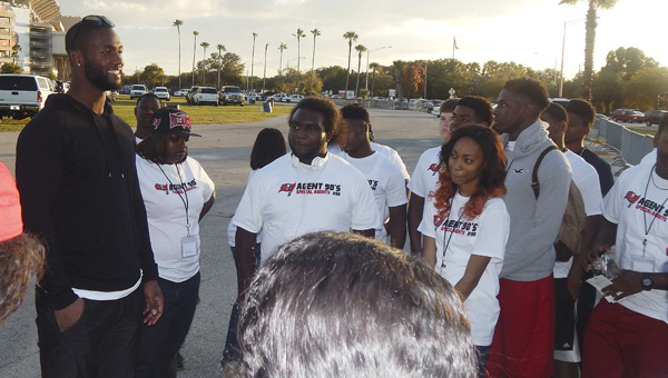 Johnson welcomes over 40 students to Tampa | The Selma Times‑Journal
