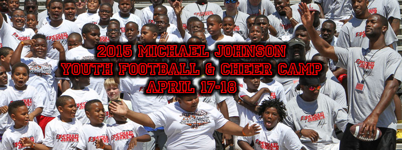2015 Michael Johnson Youth Football & Cheer Camp!