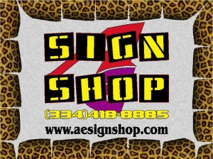 AE Sign Shop Logo