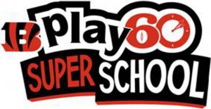 Bengals Play 60 Super School Logo
