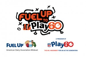 American Dairy Association Mideast Fuel Up to Play 60 Logo