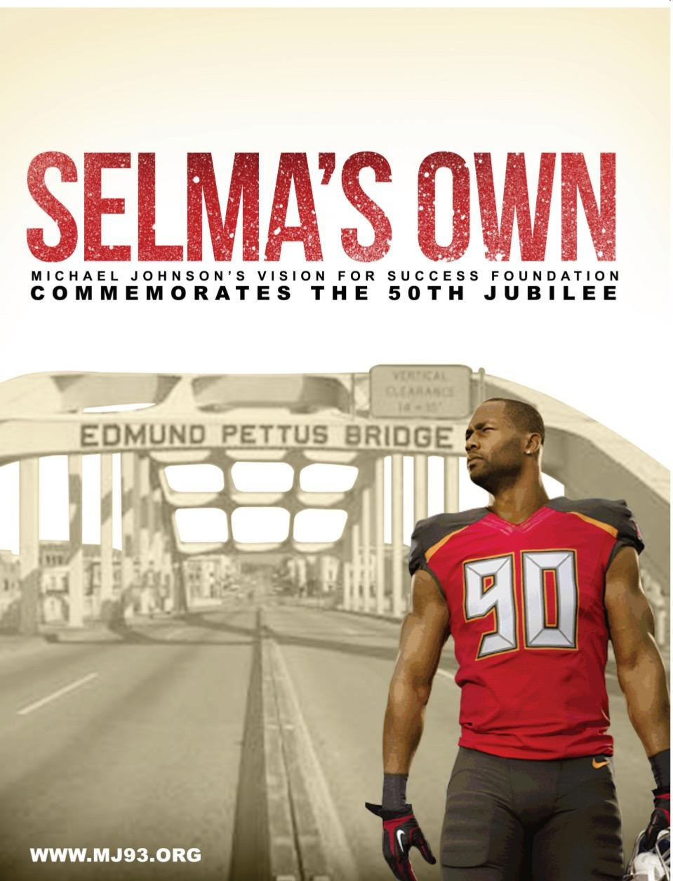 Proud Native Michael Johnson to Participate in the Selma 50th Jubilee commemorating the historical crossing of the Edmund Pettis Bridge March 5th-9th