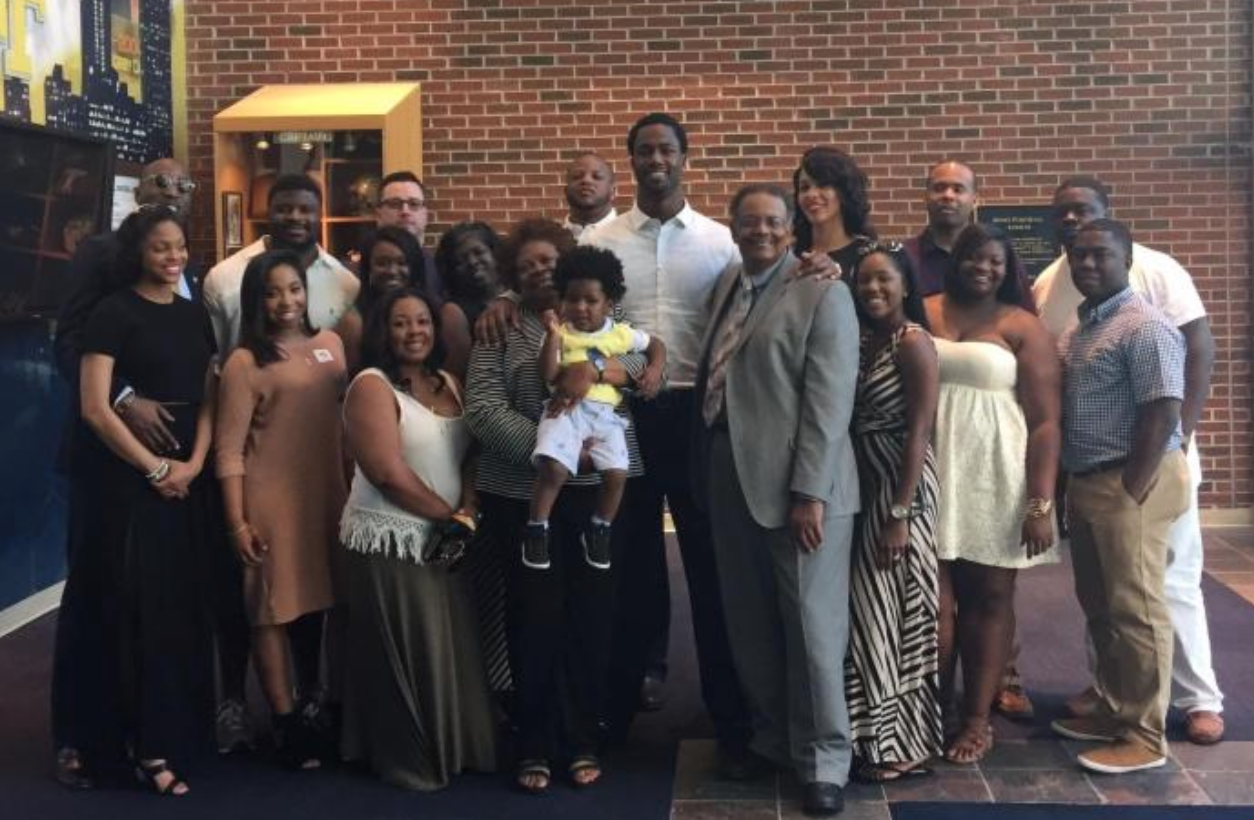 Congratulations Michael Johnson Receives Degree From