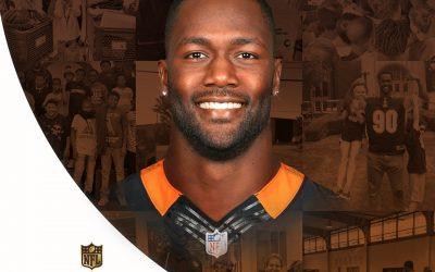 Michael Johnson Nominated for Walter Payton Man Of The Year