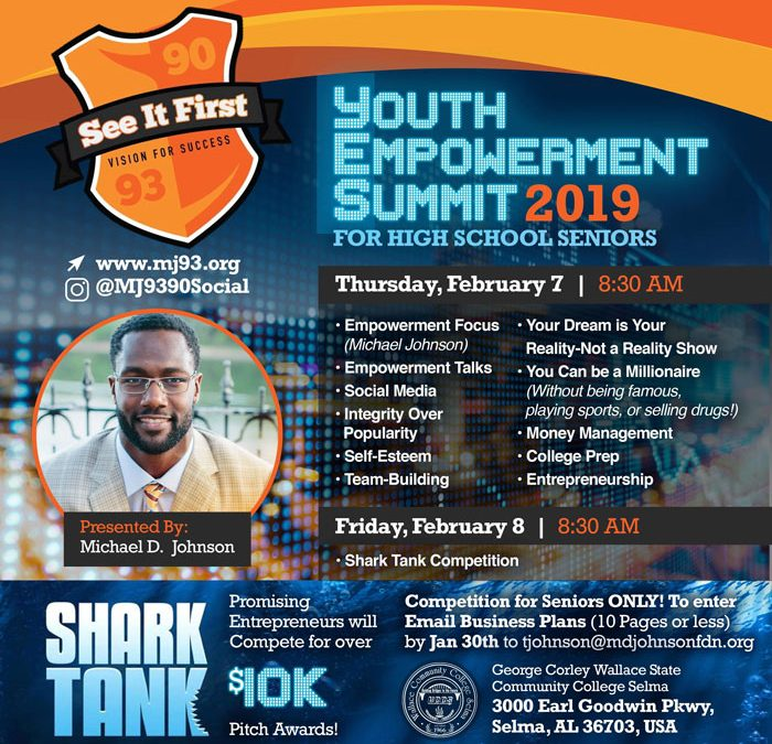Youth Empowerment Summit for SENIORS ONLY – Selma, AL