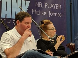 MJ 93-90 Foundation Shark Tank Judges Get a Taste of the Competition 2