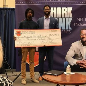MJ 93090 Shark Tank-MJ with 7K Winner Kamau Little