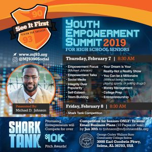 MJ Youth Empowerment Summit 2019 Social Flyer