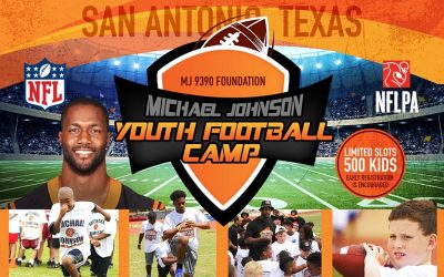 1st Annual Michael Johnson Youth Football Camp – March 30th – San Antonio, TX